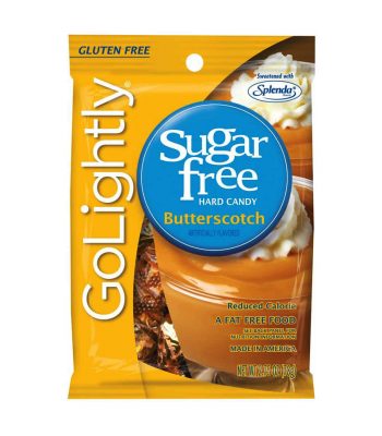 GoLightly - Butterscotch Sugar Free Candy - 2.75oz (78g) Sugar Free