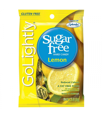 GoLightly - Lemon Sugar Free Candy - 2.75oz (78g) Sugar Free