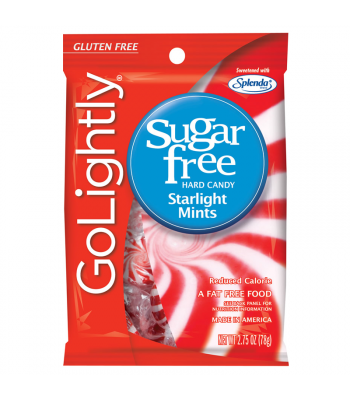 GoLightly - Starlight Mints Sugar Free Candy - 2.75oz (78g) Sweets and Candy