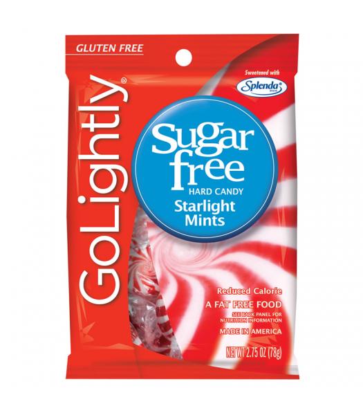 GoLightly - Starlight Mints Sugar Free Candy - 2.75oz (78g) Sugar Free