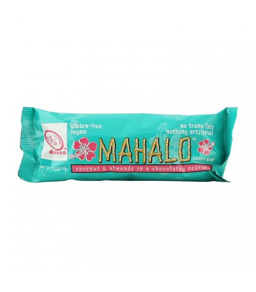 Go Max Go Mahalo™ Vegan Candy Bar - 2oz (57g) Gluten Free Go Max Go
