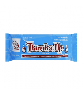 Go Max Go Thumbs Up™ Vegan Candy Bar - 1.3oz (37g) Gluten Free Go Max Go