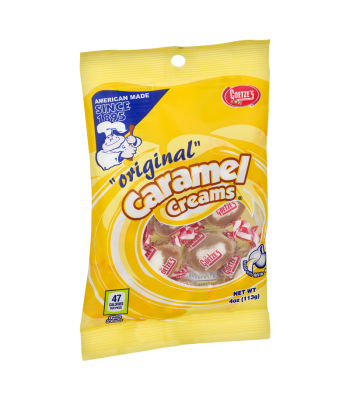 Goetze's Original Caramel Creams - 4oz (113g) Sweets and Candy Goetze's