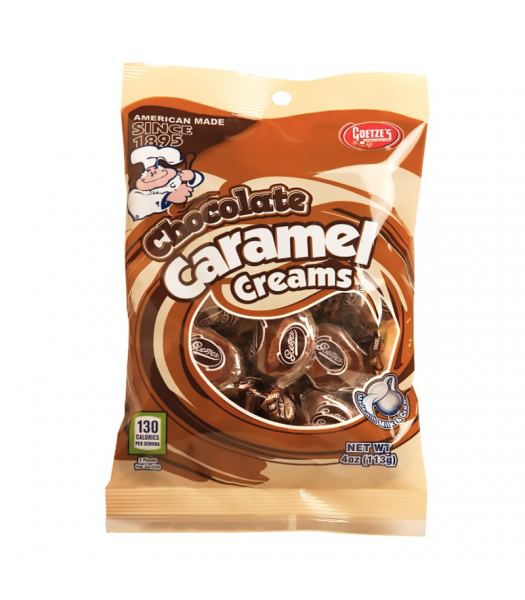 Goetze's Chocolate Caramel Creams - 4oz (113g) Sweets and Candy Goetze's