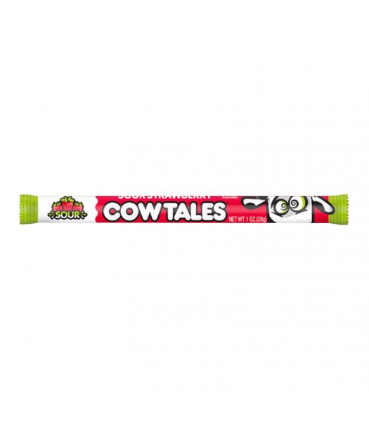 Cow Tale Limited Edition Sour Strawberry - 1oz (28g) Sweets and Candy Goetze's