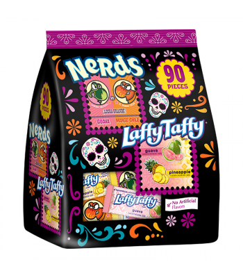 Nerds/Laffy Taffy Dulceria Assorted Halloween Candy Mix 90-Pieces - 2.5lb (40oz / 1.133kg) Sweets and Candy Nestle