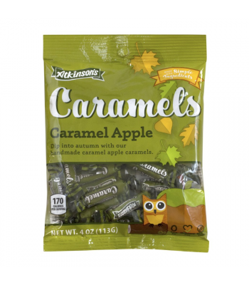 Clearance Special - Atkinson's Halloween Caramel Apple Peg Bag - 4oz (113g) **Best Before: 17 May 21** Clearance Zone