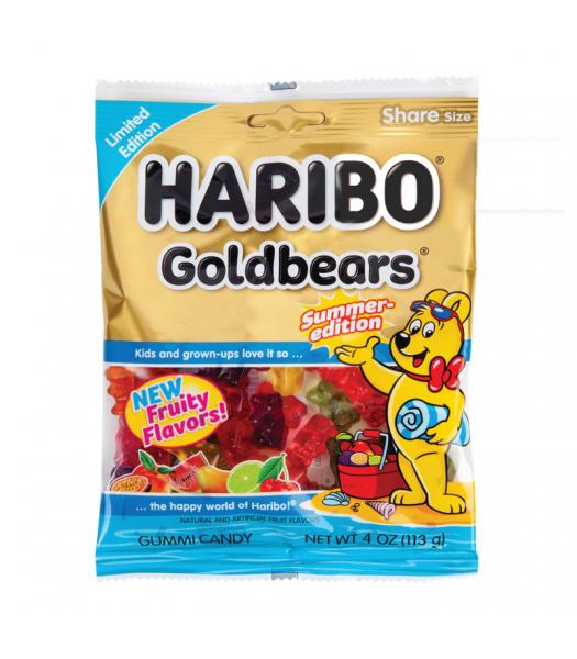 HARIBO Summer-Edition Goldbears - 4oz (113g) Sweets and Candy Haribo