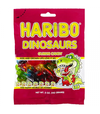 Haribo - Dinosaurs - 5oz (141g) Sweets and Candy Haribo
