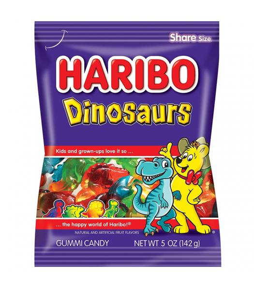 Haribo - Dinosaurs - 5oz (141g) Sweets and Candy Haribo