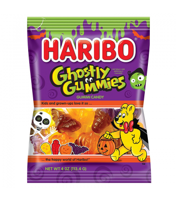 Haribo - Ghostly Gummies - 4oz (113.4g) Sweets and Candy