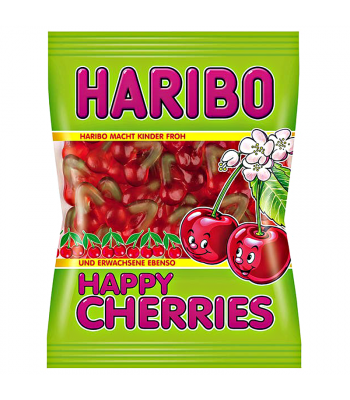 Haribo Happy Cherries Peg Bag 5oz (142g) Sweets and Candy Haribo