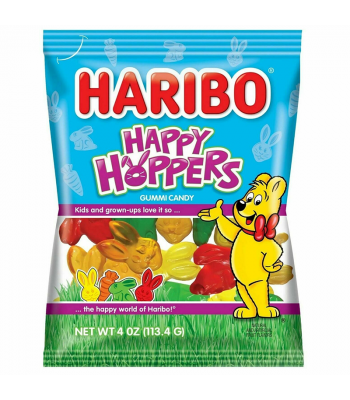 Haribo Happy Hoppers Gummies - 4oz (113g) Sweets and Candy Haribo