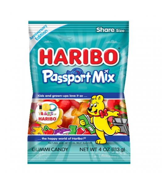 Haribo Passport Mix - 4oz (113g)
