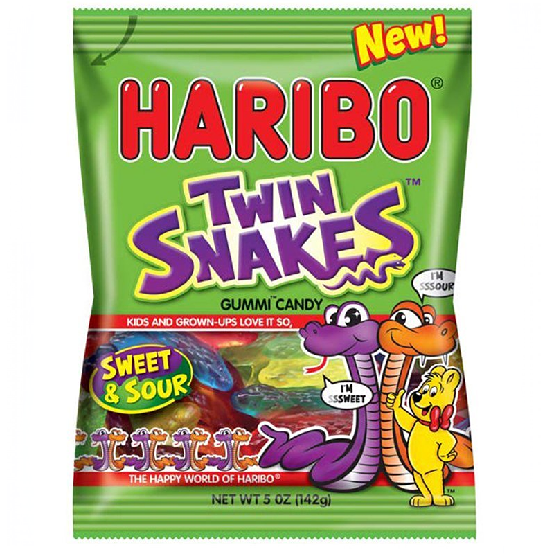 how to make snake sweets