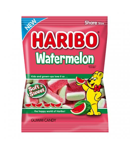 Haribo Watermelon Peg Bag 4.1oz (116g) Sweets and Candy Haribo