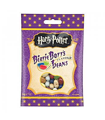 Harry Potter - Bertie Bott's Every Flavour Jelly Beans Peg Bag (54g) Jelly Beans Harry Potter