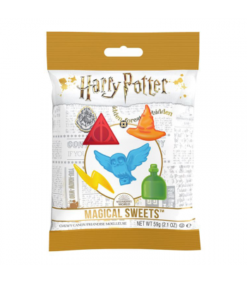 Clearance Special - Harry Potter - Magical Sweets Peg Bag (59g) **Best Before: 19 August 21** BUY ONE GET ONE FREE Clearance Zone