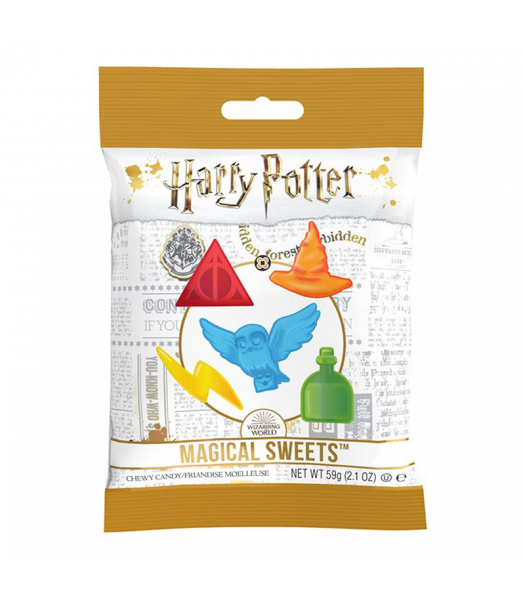 Clearance Special - Harry Potter - Magical Sweets Peg Bag (59g) **Best Before: 19 August 21** Clearance Zone