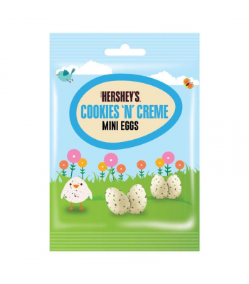 Hershey's Cookies 'N' Creme Mini Eggs - 75g Sweets and Candy Hershey's