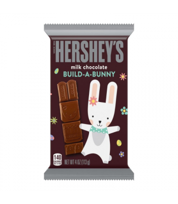 Hershey's Milk Chocolate Build-A-Bunny Large Bar 4oz (113g) Sweets and Candy Hershey's