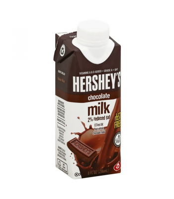 Clearance Special - Hershey's Chocolate 2% Reduced Fat Milk - 8fl.oz (236ml) ** Best Before: 31st Jan 2020 ** Clearance Zone