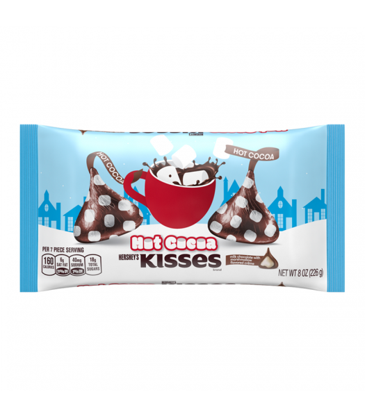 Hershey's Hot Cocoa Kisses - 8oz (226g) [Christmas] Sweets and Candy Hershey's