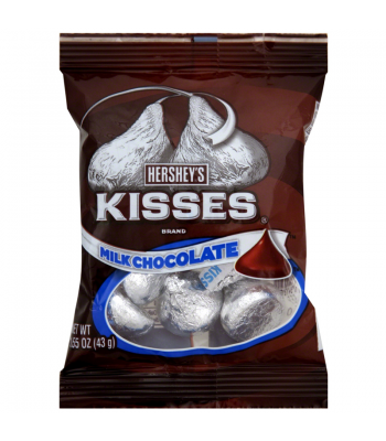 Hershey's Milk Chocolate Kisses 1.55oz (43g)