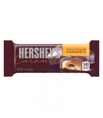 Hershey's Milk Chocolate Caramels - 1.1oz (31g) Sweets and Candy Hershey's