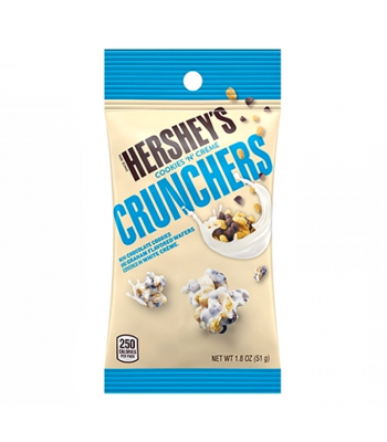 Hershey's Cookies 'N' Creme Crunchers 1.8oz (51g) Chocolate, Bars & Treats Hershey's