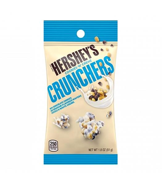 Hershey's Cookies 'N' Creme Crunchers 1.8oz (51g) Chocolate, Bars & Treats Hershey's