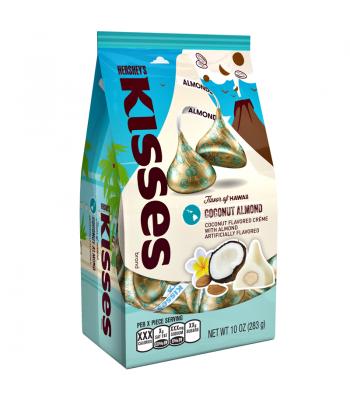 Hershey's Flavour of Hawaii - Coconut Almond White Chocolate Kisses - 10oz (283g) Chocolate, Bars & Treats Hershey's