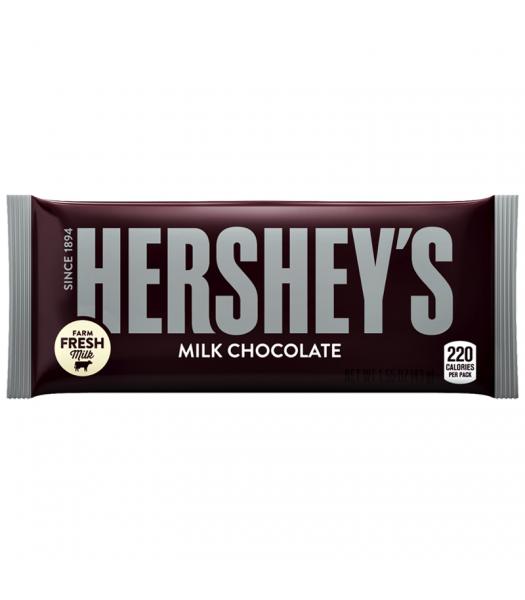 Hershey's Milk Chocolate Bar 1.55oz (43g) [U.S. Packaging] Chocolate, Bars & Treats Hershey's