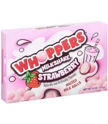 Whoppers Strawberry Milkshake 4oz (113g) Chocolate, Bars & Treats Whoppers