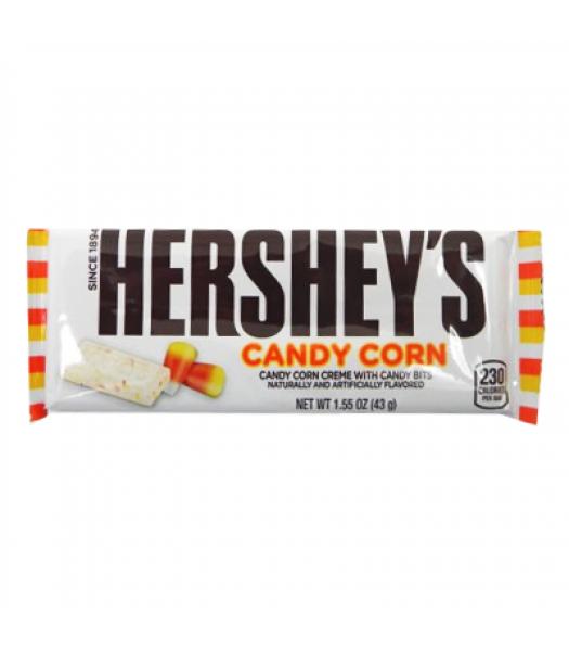 [Halloween] Hershey's White Chocolate Candy Corn Bar 1.55oz (43g) [LIMITED EDITION] Chocolate, Bars & Treats Hershey's