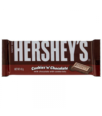 Hershey's Cookies 'n' Chocolate (43g) Chocolate, Bars & Treats Hershey's