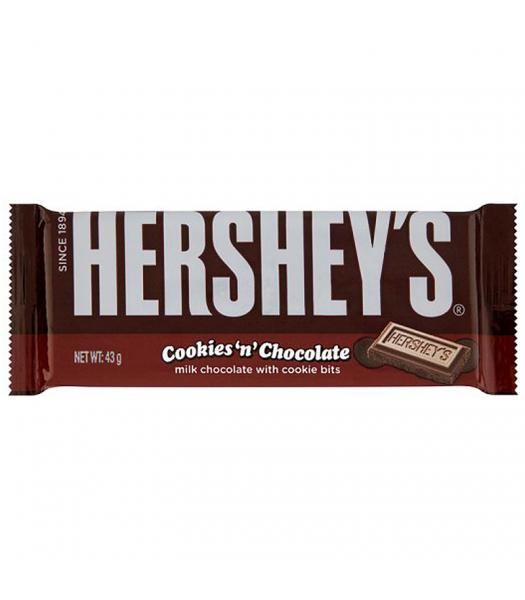Hershey's Cookies 'n' Chocolate (43g) Chocolate, Bars & Treats Hershey's