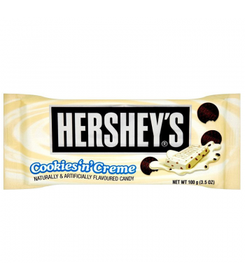 Clearance Special - Hersheys Cookies & Creme  Bar 100g ** October 2016 ** Clearance Zone