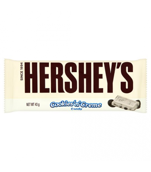 Clearance Special - Hershey's Cookies & Cream 43g **Best Before: 16 Jan 21** Clearance Zone