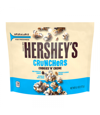 Hershey's Cookies 'n' Creme Crunchers 6.1oz (172g) Sweets and Candy Hershey's