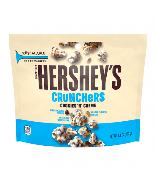 Clearance Special - Hershey's Cookies 'n' Creme Crunchers 6.1oz (172g) **Best Before: Feb 21** Clearance Zone