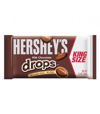 Hershey's Chocolate Drops King Size 2.1oz (60g) Chocolate, Bars & Treats Hershey's
