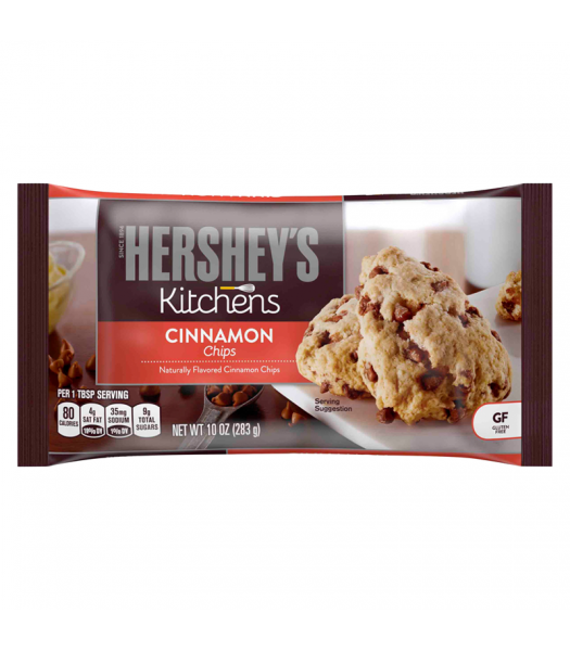 Hershey's Kitchens Cinnamon Baking Chips - 10oz (283g) Food and Groceries Hershey's