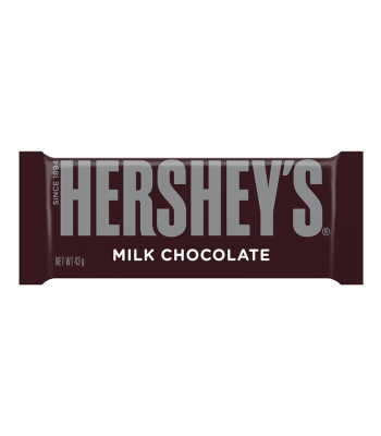 Hershey's Milk Chocolate Bar (43g) [U.S. Packaging] Chocolate, Bars & Treats