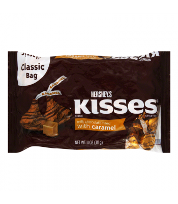 Hershey's Kisses - Milk Chocolate Filled With Caramel - 11oz (311g) Chocolate, Bars & Treats Hershey's