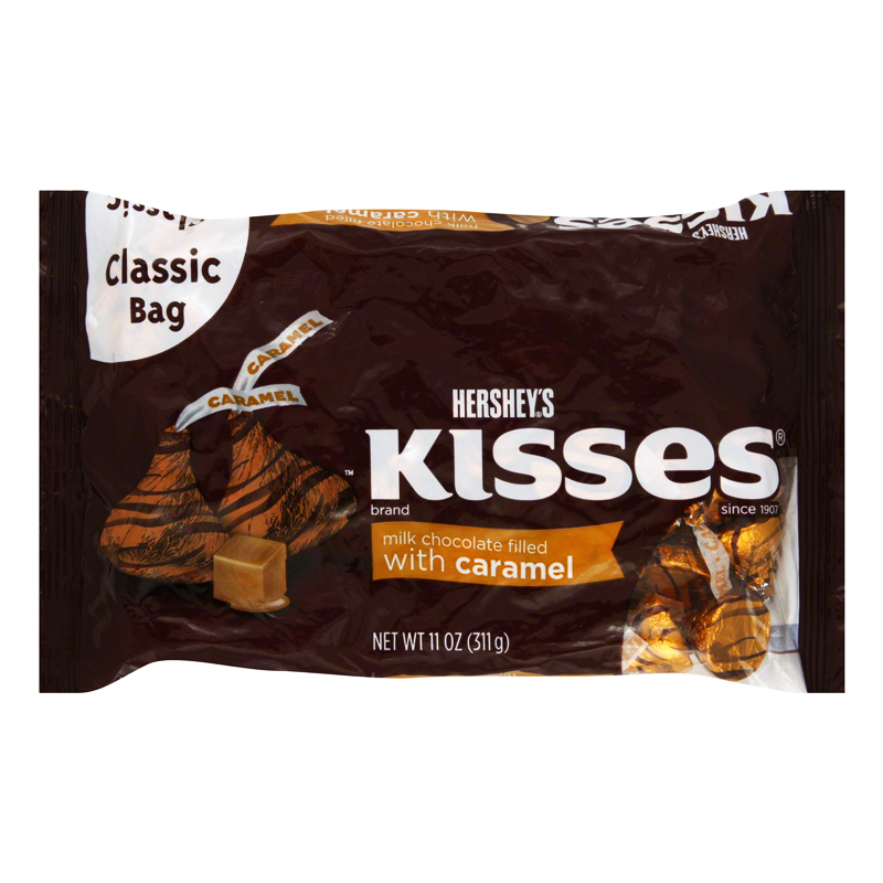 Hershey's Kisses - Milk Chocolate Filled With Caramel ...