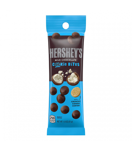 Hershey's Milk Chocolate Cookie Bites Tube - 1.8oz (51g) Sweets and Candy Hershey's