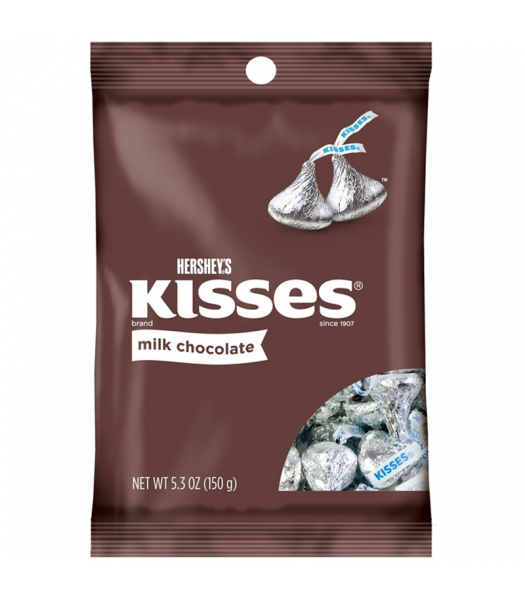 Hershey's Milk Chocolate Kisses - 5.3oz (150g) Sweets and Candy Hershey's