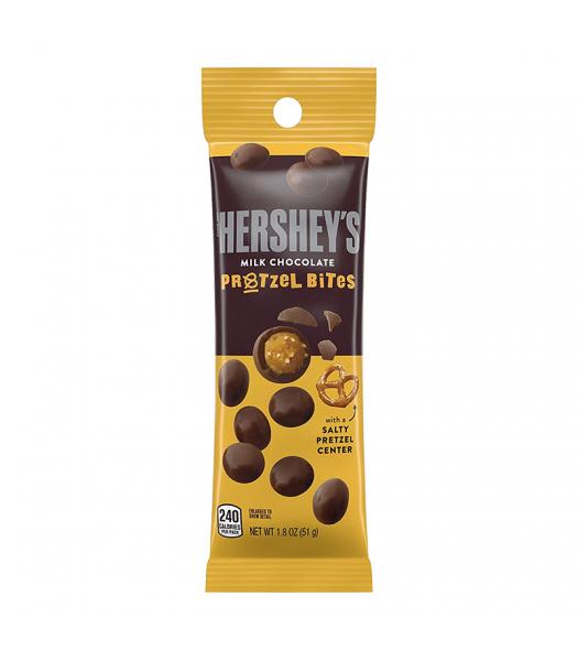 Hershey's Milk Chocolate Pretzel Bites Tube - 1.8oz (51g) Sweets and Candy Hershey's