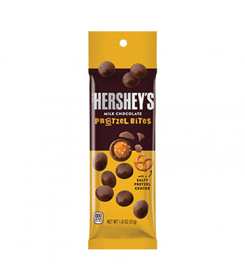 Hershey's Milk Chocolate Pretzel Bites Tube - 1.8oz (51g) Sweets and Candy Hershey's